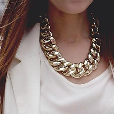 billige Mode Halskæde-Dame Kædehalskæde Erklæring Europæisk Guld Sølv Halskæder Smykker Til Fest Speciel Lejlighed Fødselsdag Gave
