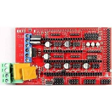 ράμπες robotale 1.4 reprap mendelprusa πίνακα ελέγχου του εκτυπωτή 3D - κόκκινο + μαύρο