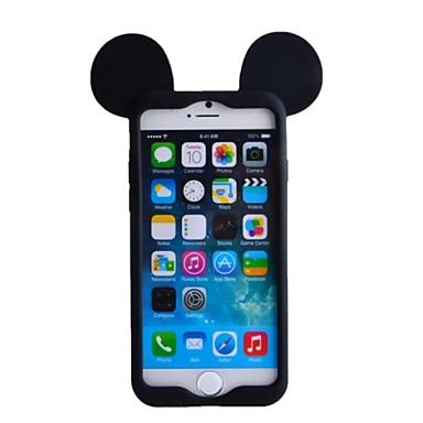 Pentru Carcasă iPhone 6 / Carcasă iPhone 6 Plus Anti Șoc Maska Carcasă Spate Maska 3D desen animat Moale SiliconiPhone 6s Plus/6 Plus /