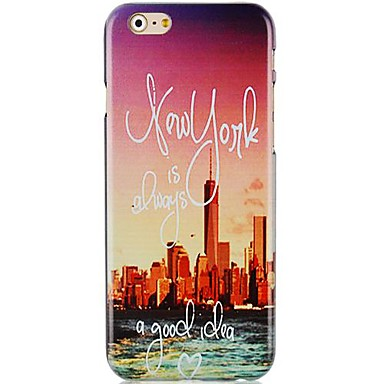 City Panorama Pattern Hard Back Case for iPhone 6 Plus