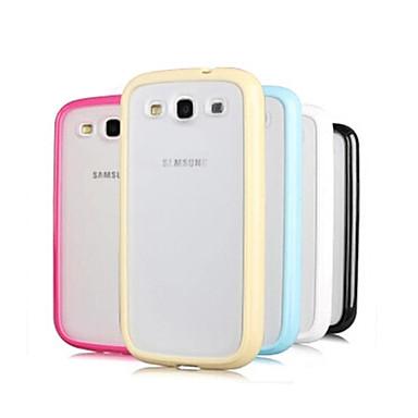 Trasparente Custodia morbida di TPU per Samsung Galaxy S3 I9300 (colori assortiti)