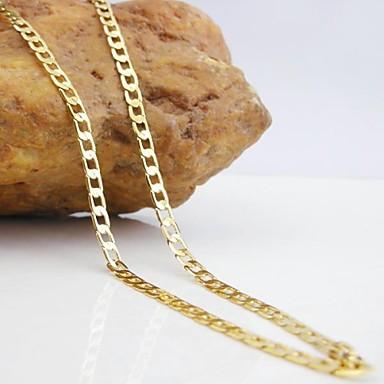 Kadın's Zincir Kolyeler - Moda Altın Kolyeler Mücevher Uyumluluk Düğün, Parti, Günlük