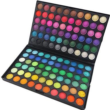 120 Oogschaduwpalet Droog / Mat / Glinstering Oogschaduw palet Poeder Normaal Feestelijke make-up