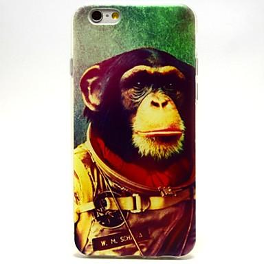 Space Chimps patroon TPU zachte hoes voor de iPhone 6