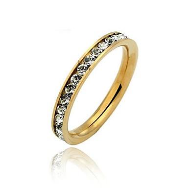 Pentru femei Band Ring Auriu Teak Modă Nuntă Zilnic Costum de bijuterii