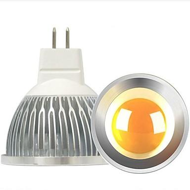 4W 300-400 lm GU5.3 (MR16) LED-spotlampen A60 (A19) leds COB Dimbaar Decoratief Warm wit DC 12V