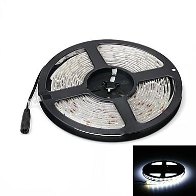 5m Fâșii De Becuri LEd Flexibile 300 LED-uri 5630 SMD Alb Rezistent la apă 12 V / IP65