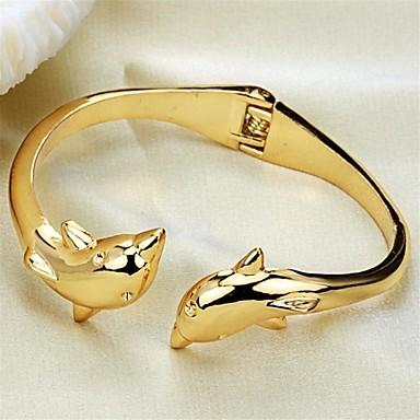 mode persoonlijkheid dolfijnen ms plating 18k gouden armband