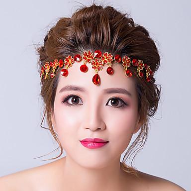 Γυναικείο Κράμα Cubic Zirconia Headpiece-Γάμος Ειδική Περίσταση Αλυσίδα για το Κεφάλι