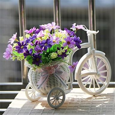 ramură Poliester Plastic Margarete Față de masă flori Flori artificiale