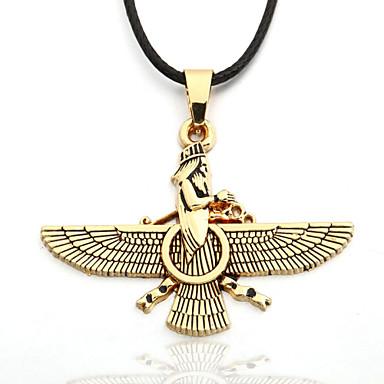 Uçlu Kolyeler - Deri, Altın Kaplama Altın Kolyeler Mücevher Uyumluluk Yılbaşı Hediyeleri, Parti, Günlük