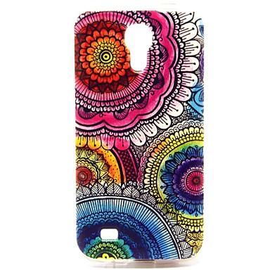 Για Samsung Galaxy Θήκη Με σχέδια tok Πίσω Κάλυμμα tok Λουλούδι TPU Samsung S4