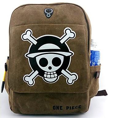 Bolsa Inspirado por One Piece Fantasias Anime Acessórios para Cosplay Bolsa mochila Tela de pintura Náilon Homens novo