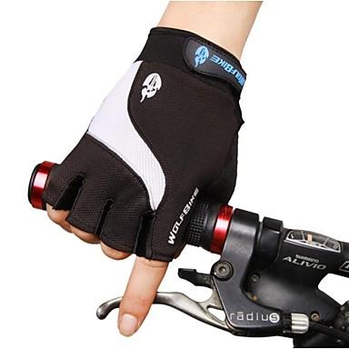West biking Luvas Esportivas Luvas de Ciclismo Secagem Rápida Resistente Raios Ultravioleta Respirável Anti-desgaste Protecção Resistente