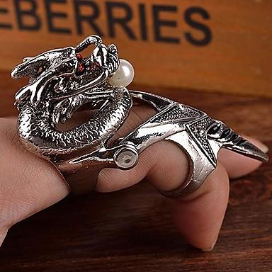 Statement Ring Zilver Legering Kerstcadeaus Feest Dagelijks Causaal Kostuum juwelen