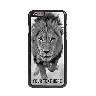 gepersonaliseerde telefoon case - wilde leeuwen ontwerp metalen behuizing voor de iPhone 6