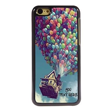 gepersonaliseerde telefoon case - ballon ontwerp metalen behuizing voor de iPhone 5c