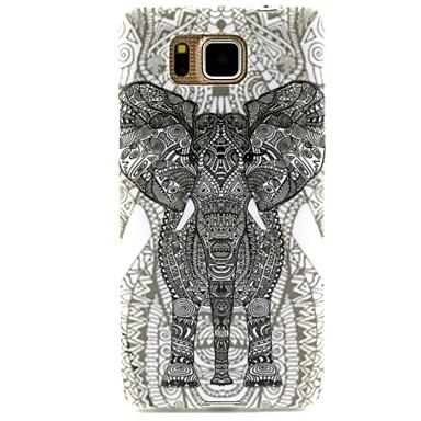 Pentru Samsung Galaxy Carcasă Carcase Huse Model Carcasă Spate Maska Elefant TPU pentru Samsung Alpha