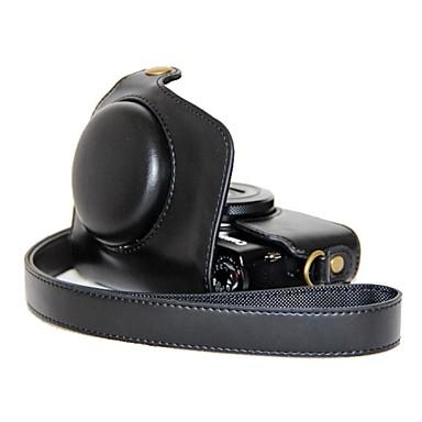 pajiatu® ρετρό pu δέρμα πετρελαίου κάμερα τσάντα δέρματος προστατευτική θήκη για Canon PowerShot G7 / x / g7x
