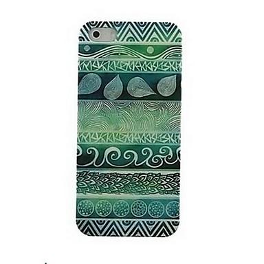 Pentru Carcasă iPhone 5 Model Maska Carcasă Spate Maska Linii / Valuri Greu PC iPhone SE/5s/5