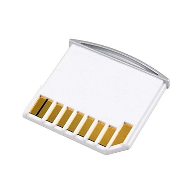 micro sd tf naar sd-kaart kit mini-adapter voor extra opslag MacBook Air / Pro / retina wit