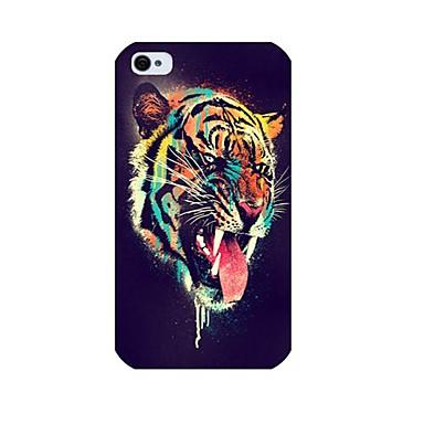 tigru model înapoi caz pentru iPhone 4 / 4s