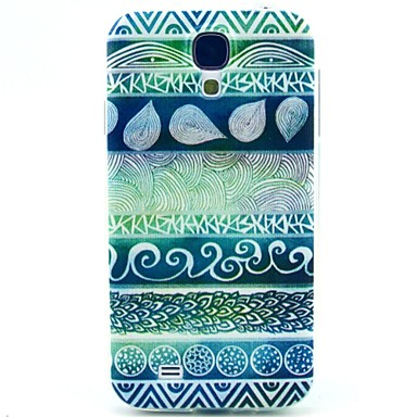 Para Samsung Galaxy Capinhas Estampada Capinha Capa Traseira Capinha Estampa Geométrica TPU Samsung S4
