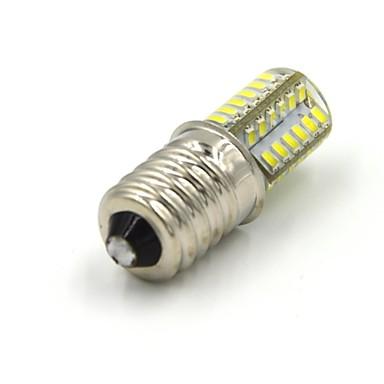 3W 300-360 lm E14 LED-maïslampen 48 leds SMD 3014 Warm wit Koel wit AC 85-265V