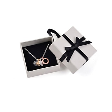Dames Vorm Hangertjes ketting Kristal Verzilverd Legering Hangertjes ketting Bruiloft Feest Dagelijks Causaal Sport Kostuum juwelen