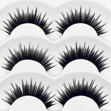 Kirpik Takma Kirpiker 6 pcs Hacimlendirilmiş Bukle Kalın Fiber Günlük Kalın - Makyaj Makijaż dzienny Kozmetik Tımar Malzemeleri