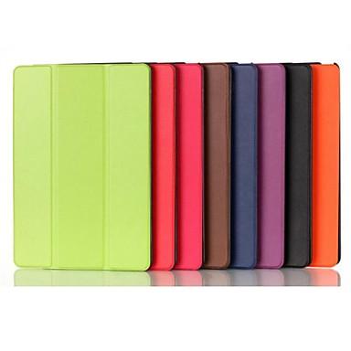 Maska Pentru iPad Mini 4 iPad Mini 3/2/1 iPad 4/3/2 iPad Air 2 iPad Air Cu Stand Origami Carcasă Telefon Culoare solidă PU piele pentru