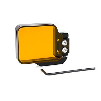 Accesorii ομαλή Frame Dive Φίλτρο Φίλτρο φακών Υψηλή ποιότητα Για την Κάμερα Δράσης Gopro 4 Gopro 3+ Gopro 2 Αθλητισμός DV Καταδύσεις