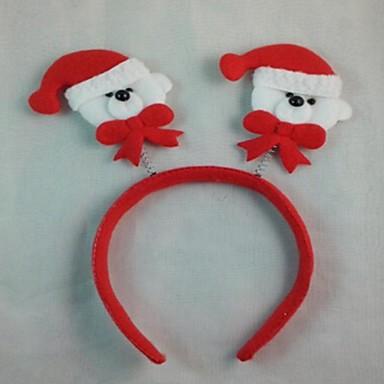 festa de natal chapéu bonito urso banda cabeça de cabelo