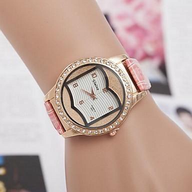 damesmode diamant book stijl quartz horloge (verschillende kleuren)