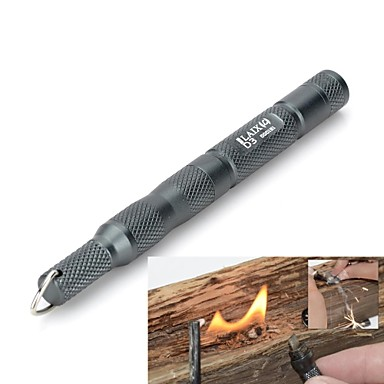 Fire Starter / Credit Card Survival Tool / Survival Kit Wandelsport Multi Function / Overleving Aluminium / metalen Grijs