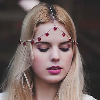 mode lieflijkheid kwasten multicolor lichtmetalen haar sieraden (1 st) (rood, zwart)