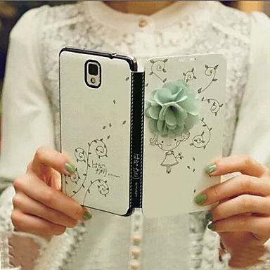 Για Samsung Galaxy Θήκη Ανοιγόμενη / Με σχέδια tok Πλήρης κάλυψη tok Κινούμενα σχέδια 3D Συνθετικό δέρμα Samsung S5