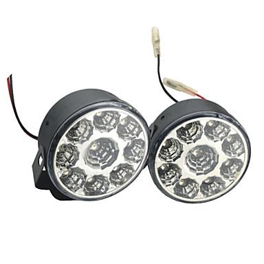 2pcs Araba Ampul 4W SMD LED 9 Güzdüz Çalışma Işığı
