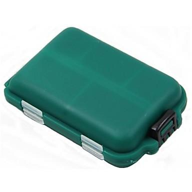 Fishing Tackle Boxes Lure Box Waterproof Hard Plastic 9.5*2 1/2