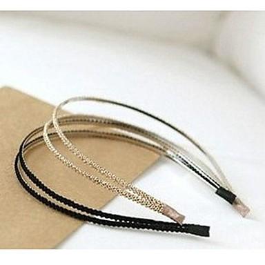 ieftine Bijuterii de Păr-Pentru femei Casul / Zilnic Modă Elegant Material Textil Plastic Cordeluțe Nuntă Petrecere