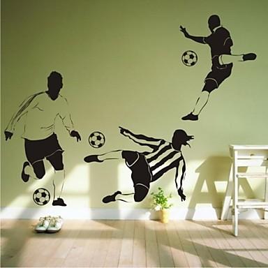 muurstickers muur stickers, hedendaagse voetbal pvc muurstickers