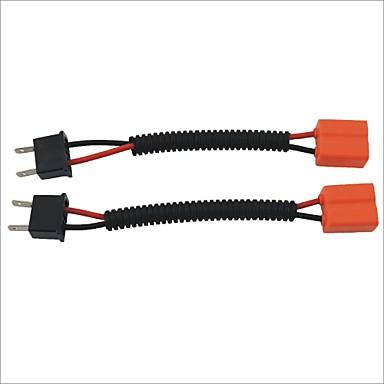 masculin H7 la feminin prize fasciculului de sârmă cablu de extensie pentru masina far / foglight (2 buc)