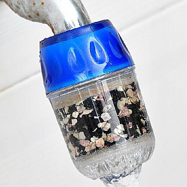 Aktif karbon su filtresi musluk dokunun ev su arıtma kaldırmak pas sediment filtreleme askıya
