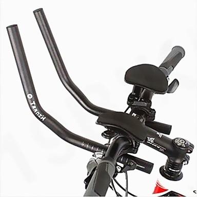westen biking® wielerwedstrijd fiets mtb aluminiumlegering triatlon aero stuur rust stuur gescheiden 2 stuks pijp rust