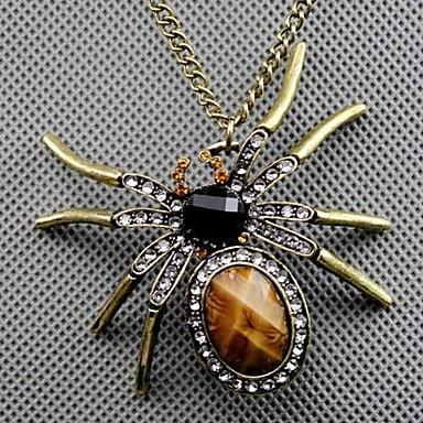Damen Anhängerketten - Spinnen, Tier Retro, Modisch Farbbildschirm Modische Halsketten Schmuck Für