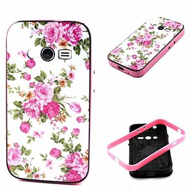 Για Samsung Galaxy Θήκη Ανθεκτική σε πτώσεις / Με σχέδια tok Πίσω Κάλυμμα tok Λουλούδι TPU Samsung Ace 4