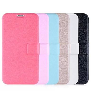 duplex zijdepatroon lederen full body case met card slot voor Samsung i9600 s5