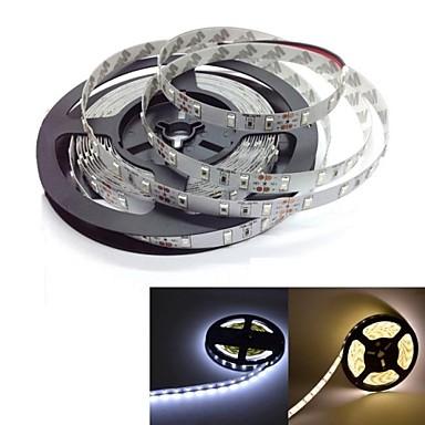 Fâșii De Becuri LEd Flexibile 300 LED-uri Alb Cald Alb Auto- Adeziv DC 12V