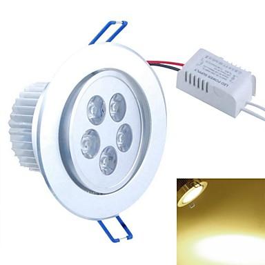 SENCART 5 W 5PCS COB 500-550 LM 3000 K Warm wit Verzonken ombouw Decoratief Plafondlampen AC 85-265 V