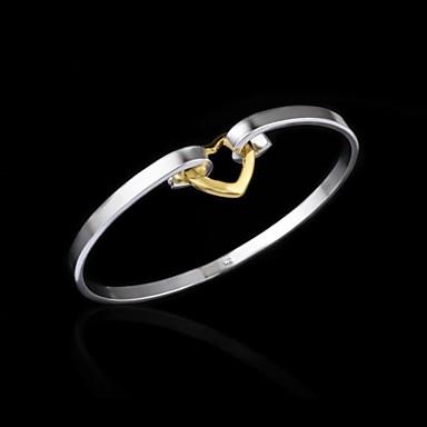 Dames Sieraden Cuff armband Zilver LOVE Sieraden Verjaardag Verloving